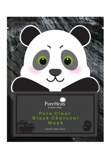 PUREHEALS Pore Clear Black Charcoal Mask