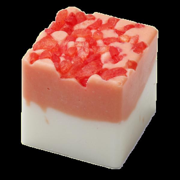 BadeFee BadeWürfel Grapefruit-Erdbeere