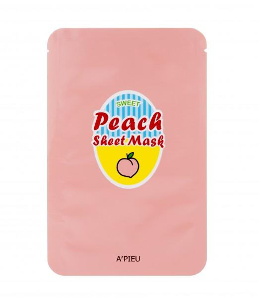 APIEU Peach & Yogurt Sheet Mask