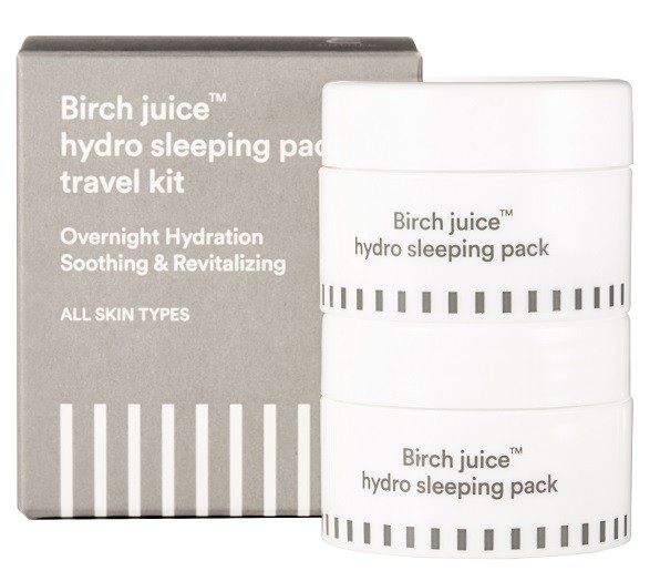 ENATURE Birch juice Sleepingpack Travelkit