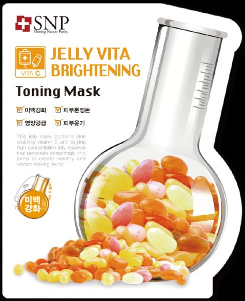 SNP Jelly Vita Brigtening Toning Mask