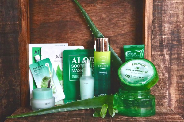 Korean Beauty Aloe Vera Box