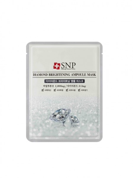 SNP Diamond Brightening Ampoul Mask