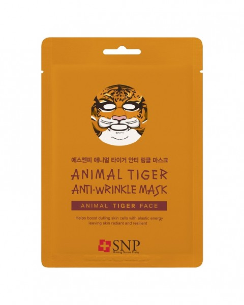 SNP Animal Tiger Anti-Wrinkle Mask