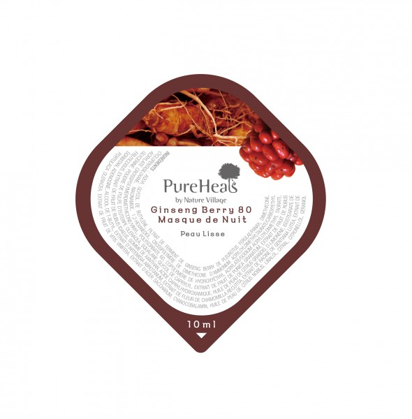 PUREHEALS Ginseng Berry 80 Overnight Mask Capsule