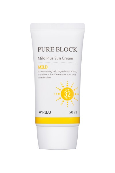APIEU Pure Block Mild Plus Sun Cream SPF32/PA+++