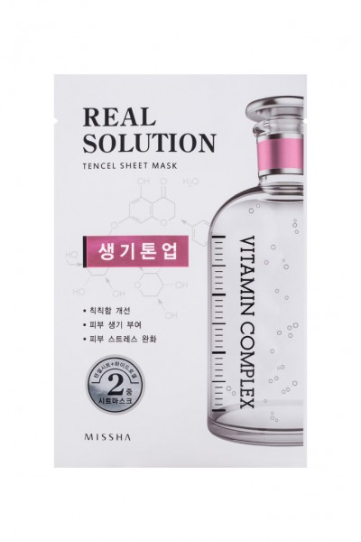 MISSHA Real Solution Tencel Sheet Mask (Brightening)