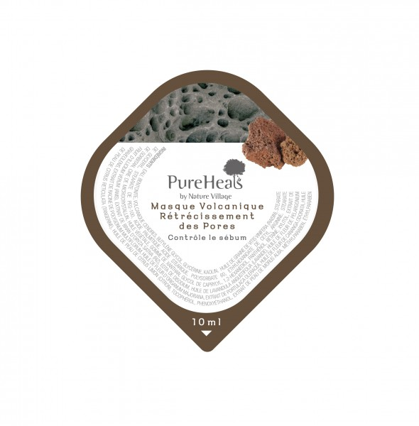 PUREHEALS Volcanic Pore Tightening Mask Capsule