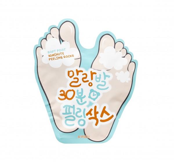 APIEU Soft Foot Peeling Socks