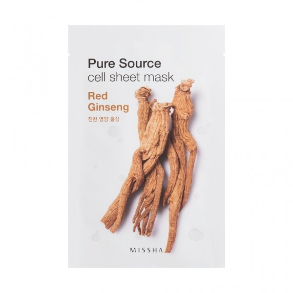 MISSHA Pure Source Cell Sheet Mask (Red Ginseng)