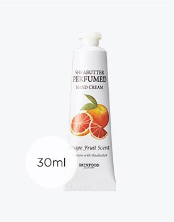 Skinfood Shea Butter Perfumed Hand Cream (Grape Fruit Scent)