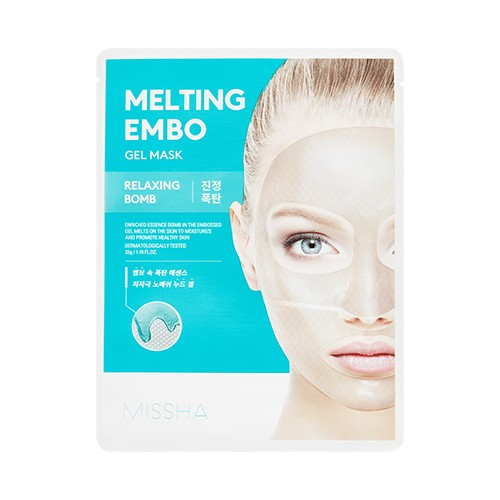 MISSHA Embo Gel Mask_Relaxing Bomb