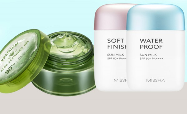 MISSHA Summer SET Safe Block & Aloe