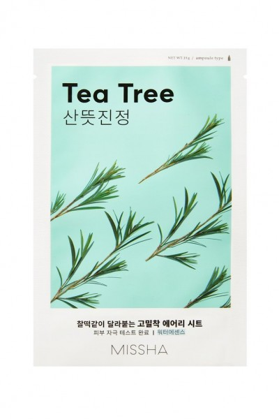 MISSHA Airy Fit Sheet Mask (Tea Tree)