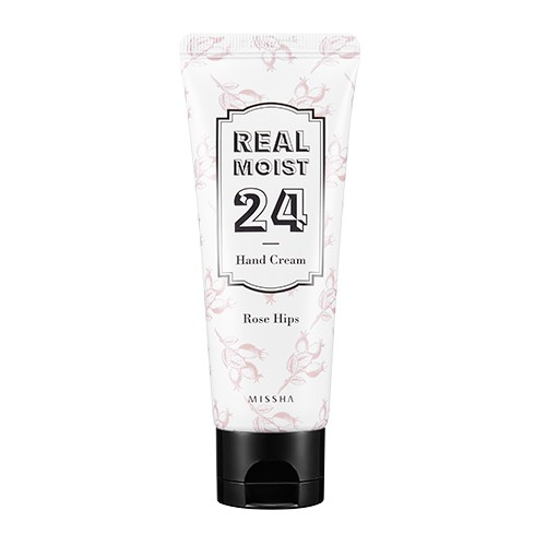 MISSHA Real Moist24 Hand Cream (Rosehip Oil)