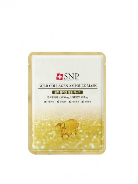 SNP Gold Collagen Ampoul Mask