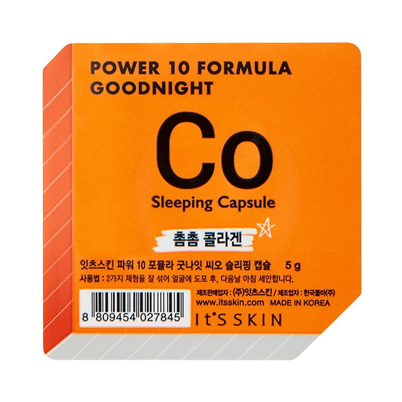 It's Skin Power 10 Formula Goodnight Sleeping Capsule CO