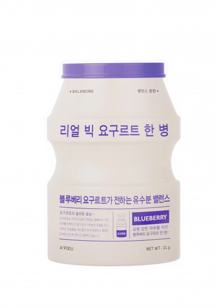 APIEU Real Big Yogurt One-Bottle (Blueberry)