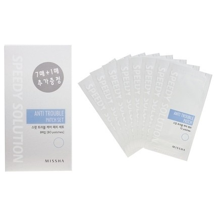 MISSHA Speedy Solution Anti-Trouble Patch Set (8 sheets) 96 Pflaster