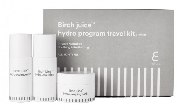 ENATURE Birch Juice Hydro Travel Kit 3pc