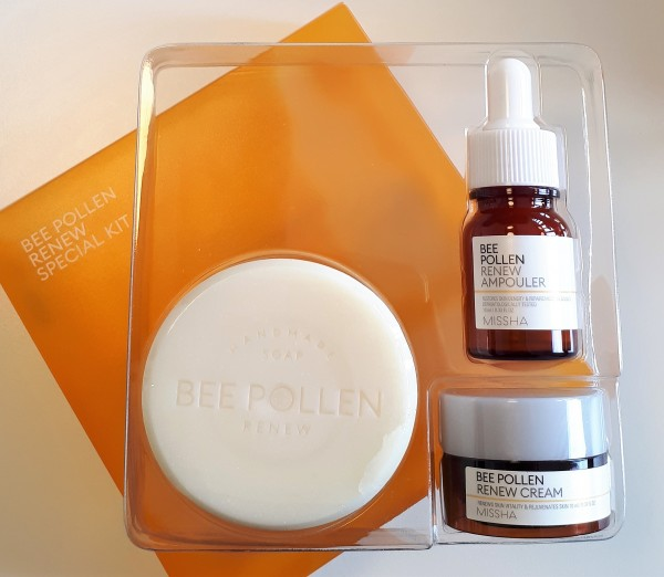 MISSHA Bee Pollen Renew Trial Kit
