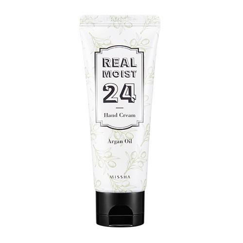 MISSHA Real Moist 24 Hand Cream (Argan Oil)